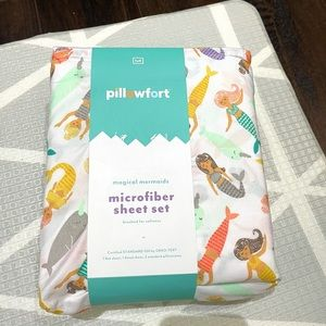 Pillowfort full sheet set mermaids